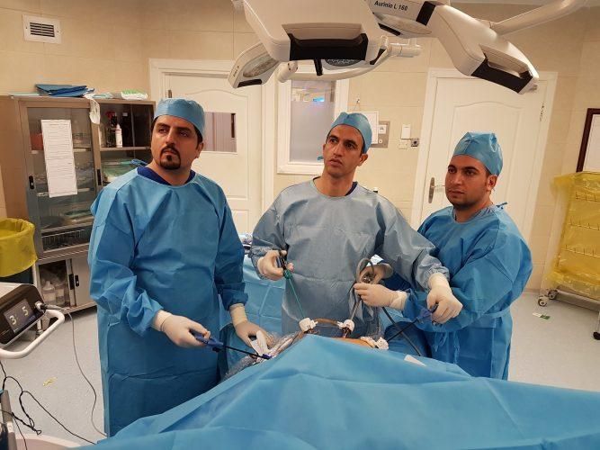 جراحی چاقی اسلیو و جراحی بای پس معده و جراحی مینی بای پس معده و جراحی ترکیبی SASJ