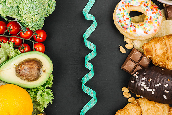 چگونه با خوردن لاغر شویم ؟