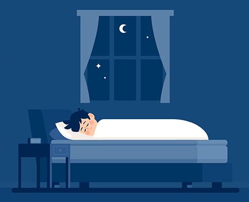 برای لاغری، خوابتان را منظم کنید.